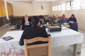 اجتماع هام مع مسئولي الدرن بالصدر والمستشفيات المركزية بالفيوم