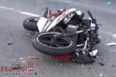 مصرع موظف في تصادم دراجة بخارية بسيارة نقل بسوهاج
