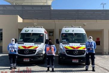 فريق الإسعاف الوطني على أهبة الاستعداد لدعم سباق الجائزة الكبرى في أبوظبي للعام السابع على التوالي