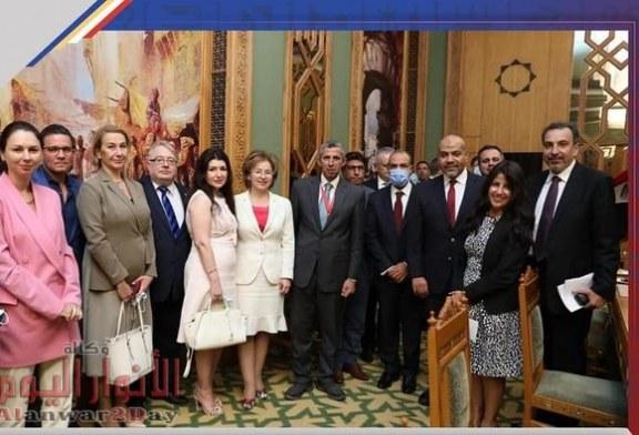 فى عام التعاون الانسانى الخارجية تستضيف اللجنة المصرية –الروسي